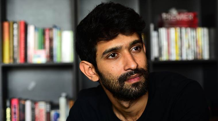 Vikrant Massey during the interview at his residence in Versova on Tuesday. Express photo by Kevin DSouza, Mumbai 18-10-2016.