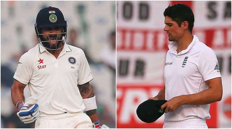 India vs England, Ind vs Eng, Ind vs Eng 3rd Test, Ind vs Eng Mohali Test, Mohali Test, Virat kohli, kohli, Alastair Cook, Cook, Cricket news, Cricket