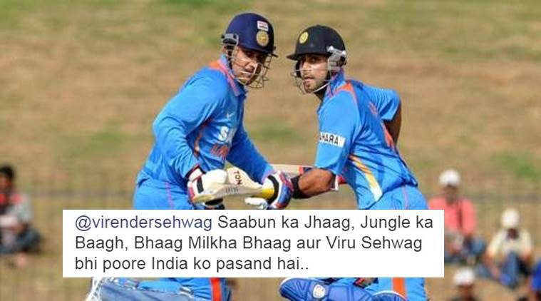 On Virat Kohli's birthday Virender Sehwag's tweet is winning the Internet