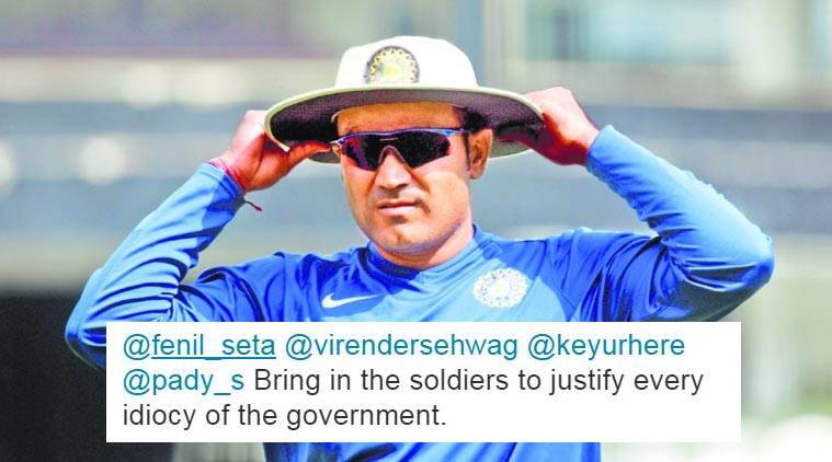 Virender Sehwag gets trolled this time