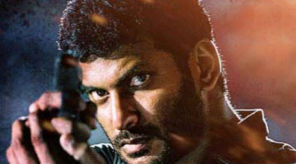 Actor and Nadigar Sangam Secretary, Vishal,suspended from producers' council