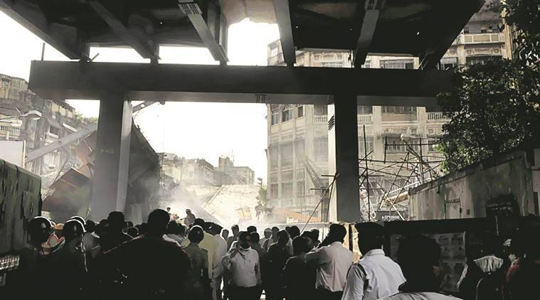 kolkata, kolkata flyover collapse, vivekananda flyover collapse, vivekananda flyover collapse arrests, kolkata flyover collapse case, chargesheet submitted, kolkata police, construction company case, indian express news, india news, kolkata news