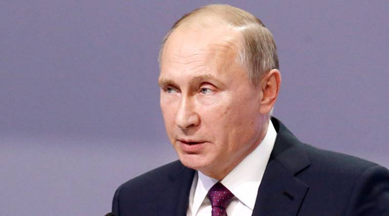 vladimir putin, russian president putin, russian weapons, russian new weapons, Russia-US relationship, US, NATO, Syria tensions, world news, indian express