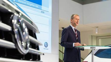 Volkswagen CEO says German carmakers have only 50% chance of staying ahead