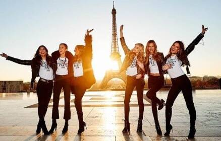 Victoria's Secret Fashion Show 2016: Supermodels head to Paris