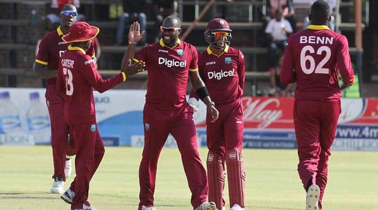 West Indies, Pakistan, West Indies-Pakistan-ODI, first ODI, Providence ODI, Jason Mohammed, Kieran Powell, Mohammad Hafeez, Shoaib Malik, Ahmed Shehzad, cricket news, Indian express