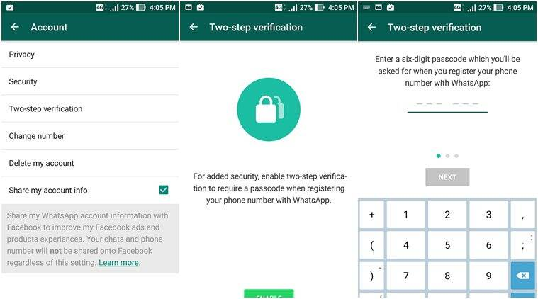 WhatsApp, Whatsapp two-step authentication, WhatsApp beta verification, how to enable two-step verification on whatsapp, whatsApp account, whatsapp verification, whatsapp re-verification, Whatsapp two-step verification android beta, Whatsapp two-step verification, whatsapp two-step verification for iOS, instant messaging, technology, technology news