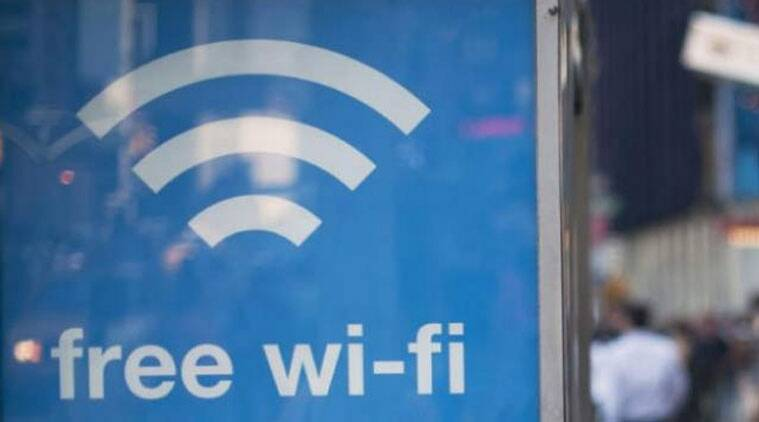 google railtel wifi, railtel free internet, indian railways, free wifi at railway station, tata wifi, indian express