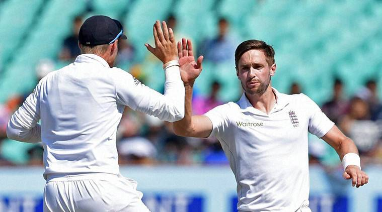 Chris Woakes took six wickets on Day 1.