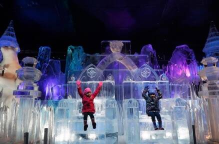 Awaken the child in you with a visit to this winter wonderland