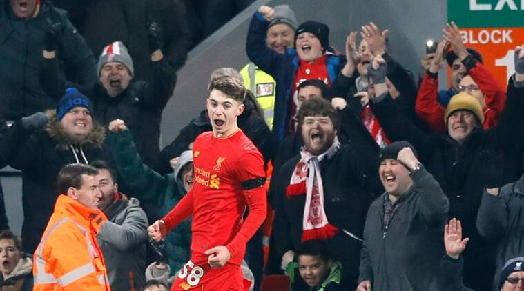 Liverpool, Liverpool fc, Liverpool football club, Ben Woodburn, Liverpool youngest goal scorer, Michael Owen, League Cup, Liverpool vs Leeds United, football news, sports news