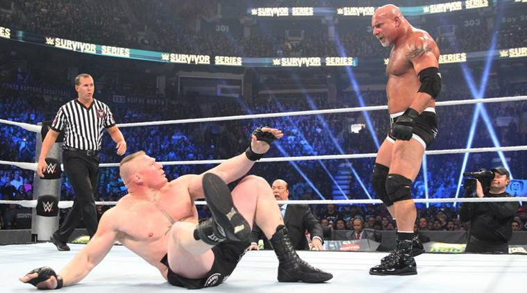WWE Survivor Series, Survivor Series, Goldberg, Brock Lesnar, Goldberg vs Brock Lesnar, Goldberg vs Lesnar, Goldberg Brock Lesnar video, Goldberg vs Brock video, Goldberg Brock Lesnar full video, wwe news, sports news
