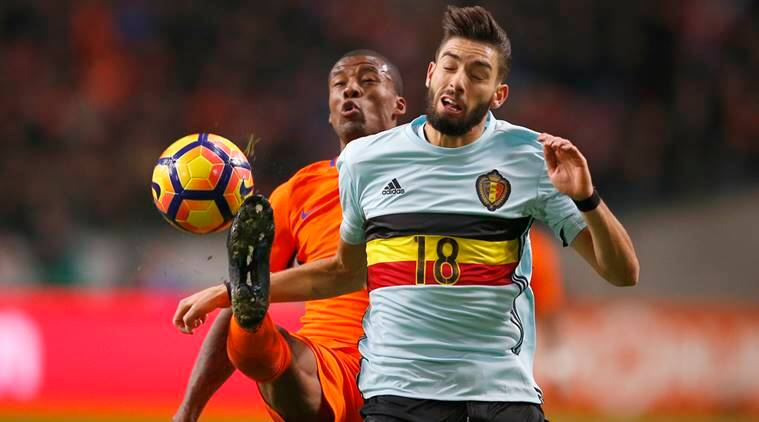 Yannick Carrasco, Yannick Carrasco belgium, Yannick Carrasco goal, Yannick Carrasco Netherlands, Belgium Netherlands, football, sports, sports news