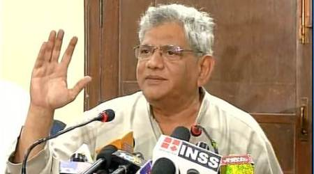 sitaram yechury, yechury, yechury demonetisation, demonetisation, demonetisation yechury, demonetisation financial emergency, demonetisation emergency, india news