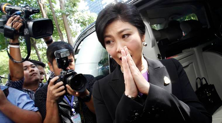 Yingluck Shinawatra court hearing, Yingluck Shinawatra skipped court hearing, Yingluck Shinawatra fled, former PM fled, former PM skipped court, world news, indian express news