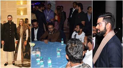 Yuvraj Singh-Hazel Keech's cocktail: Virat Kohli, Team India in attendance; see inside pictures