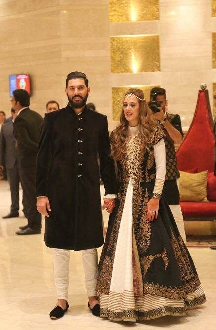 Yuvraj Singh Hazel Keech, Yuvraj Singh Hazel Keech Cocktail, Yuvraj Singh Hazel Keech wedding pictures, Yuvraj Hazel wedding pictures, Virat Kohli, Murali Vijay, Indian cricket team, India, Cricket