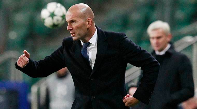 Zinedine Zidane, Real Madrid, real madrid vs Legia warsaw, legia warsaw, madrid vs legia draw, Champions League, Champions league news, Football, football news, sports, sports news