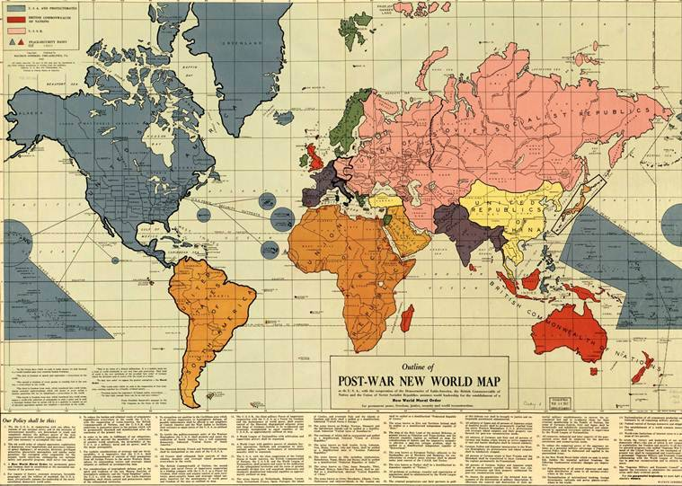 How the world map kept changing over centuries | Research News, The ...
