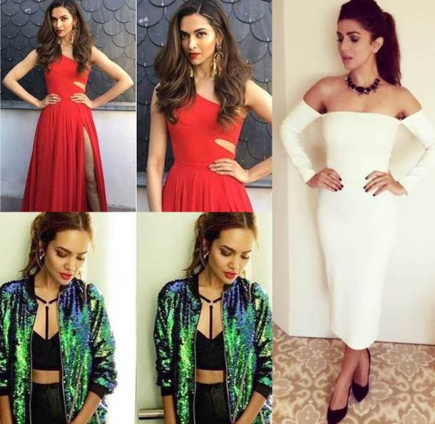 Deepika, Nimrat, Esha: Bollywood celebs show us how to rock Christmas colours of red, green and white