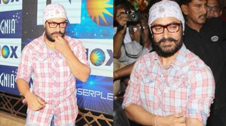 Before Dangal, check out Aamir Khan prepping for his Thugs of Hindostan look. See pics
