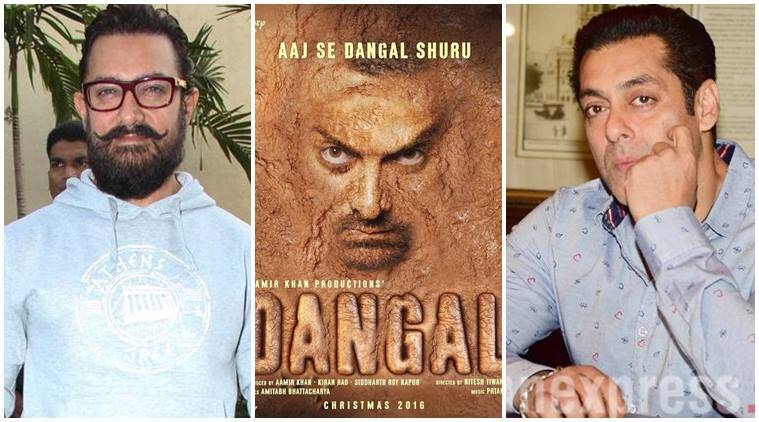 aamir khan dangal, salman khan dangal, salman khan comments on dangal, salman khan saw dangal, salman on dangal, aamir salman dangal, salman family dangal,