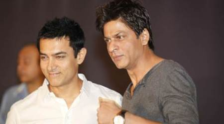 Aamir shahrukh together, aamir khan shah rukh khan together, aamir khan dangal promotions, aamir khan dhaakad version, aamir khan on zee event, aamir khan shah rukh khan salman khan, aamir khan dangal, dangal release date, bollywood khans, bollywood news, bollywood updates, entertainment news, indian express news, indian express