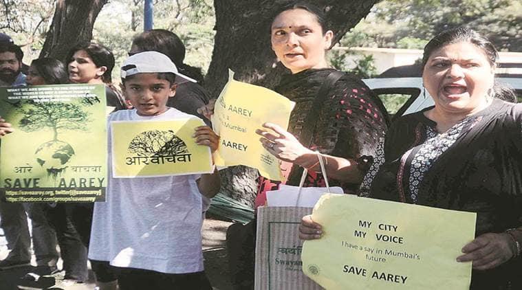 Aarey Milk Colony Mumbai, Mumbai Metro Rail Corporation (MMRC), Car depot at Aarey, Bombay High Court, Devendra Fadnavis, Mumbai news, Indian Express News