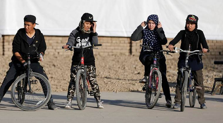 Aftghan, freestyle cycling club, afghanistan's freestyle cycling club, world news, indian express news