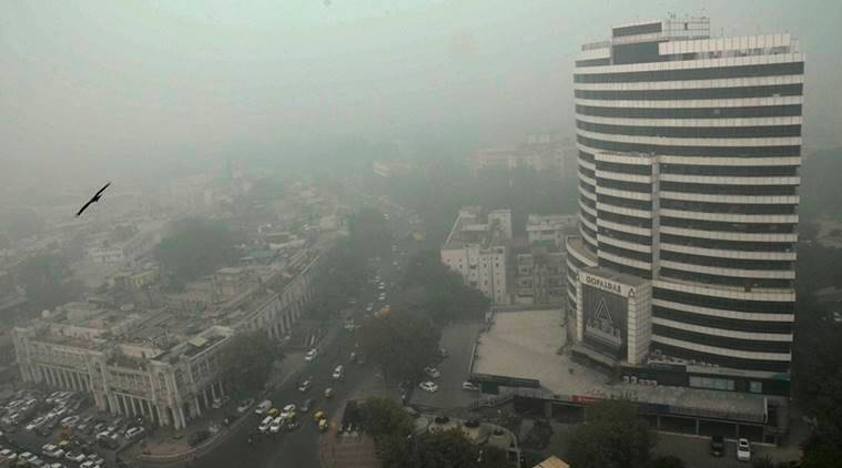 Delhi pollution, Delhi air pollution, Delhi air pollution level rises, Central Pollution Control Board, christmas, new year, vehicular pollution, rise in vehicular pollution, air pollution, Delhi, indian express news