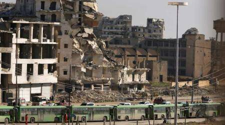 Hard choices for Syrian industrialists in ruins of Aleppo