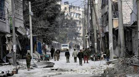 syria, syria refugee crisis, aleppo offensive, syria military, syria airstrikes, world news, aleppo news, syria news