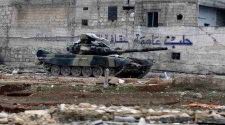 Syrian army rapidly advances south towards rebel-held area