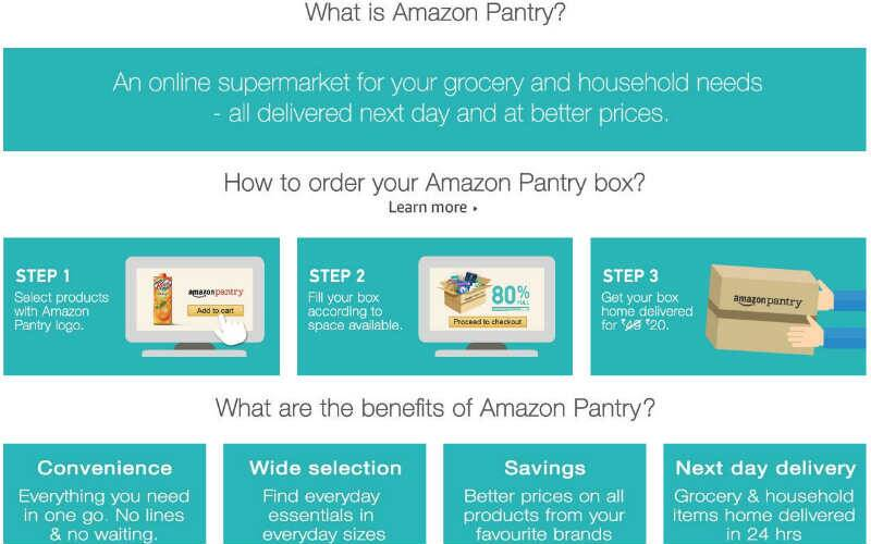 Amazon India, Amazon pantry, Which cities are Amazon pantry available in?, Amazon pantry offers, grocery on amazon, what is amazon pantry, technology, technology news