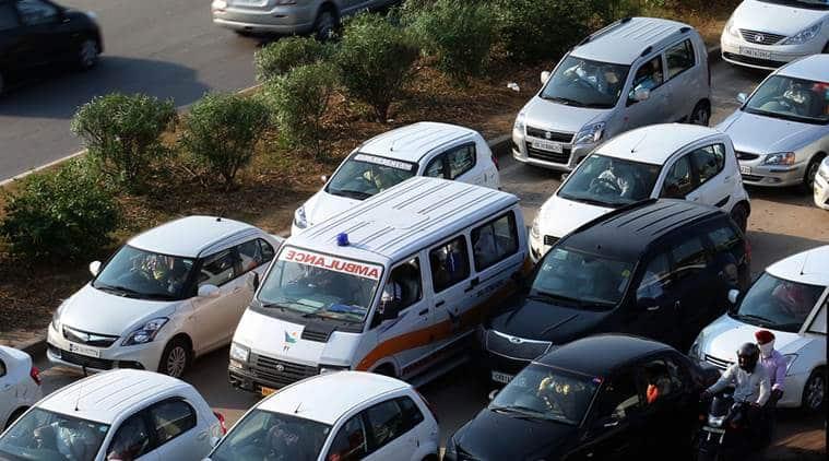 ludhiana, punjab elections, punjab aap rally, ludhiana aap rally, woman dies in ambulance, ludhiana ambulance death, ludhiana woman dies in ambulance, ludhiana news, india news