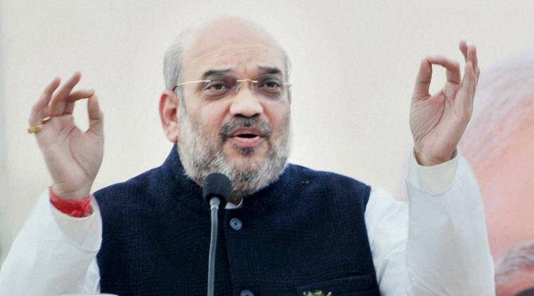 Amit Shah, Chhattisgarh, BJP, BJP workers, Amit Shah Chhattisgarh, Chhattisgarh BJP, Chhattisgarh BJP workers, india news, indian express