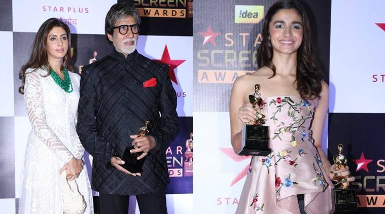 Star Screen Awards, Star Screen Awards 2016 winners, Star Screen Awards winners, Amitabh Bachchan, alia bhatt