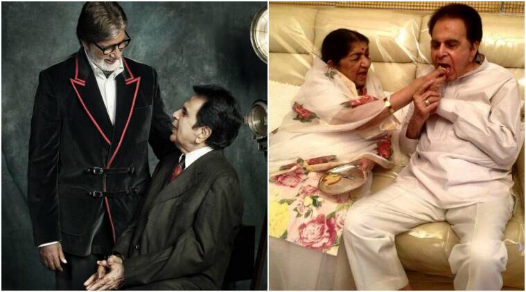 dilip kumar birthday, dilip kumar amitabh bachchan, dilip kumar b'day, dilip kumar wishes, dilip kumar turns 94, dilip kumar lata mangeshkar, dilip kumar health, dilip kumar films, bollywood updates, indian express, indian express news