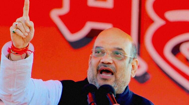 Amit Shah, Shah, Amit Shah demonetisation, demonetisation Faridabad, Faridabad local polls, Faridabad BJP win, india news, indian express
