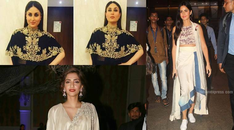 5 Celebs Who Dazzled In Anamika Khanna Couture Lifestyle News The Indian Express