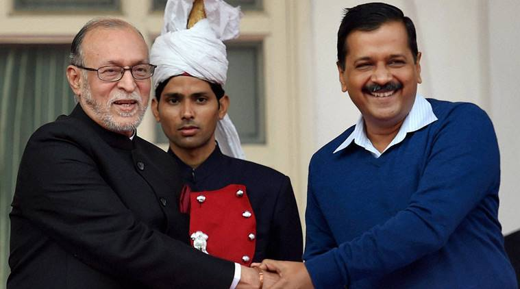 anil baijal, anil baijal delhi governor, aap government, najeeb jung, india news, delhi news, latest news
