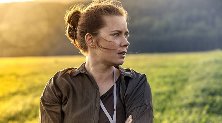 Arrival, Arrival movie, Arrival contact film, Arrival news, Arrival aliens, alien Arrival, amy adams, amy adams Arrival, Arrival amy adams, story of your life, arrival review, arrival story, arrival heptapods, entertainment news, indian express, indian express news
