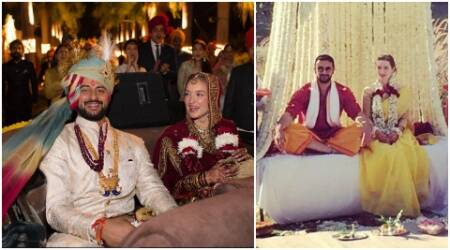 Arunoday Singh's wedding with Canadian girlfriend Lee Elton is too royal to be true, see pics