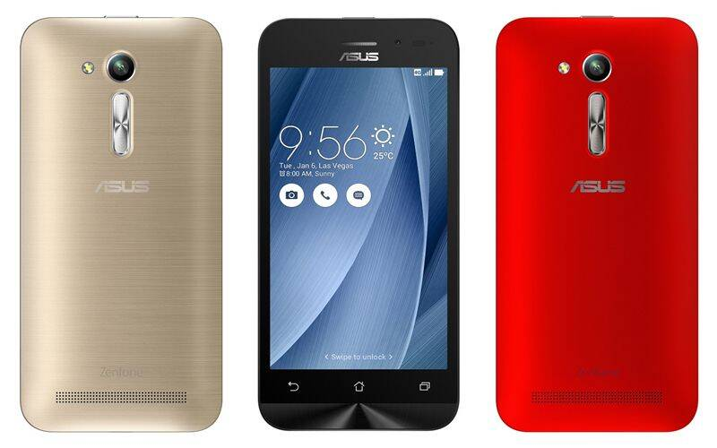 Asus Launches Zenfone Go 4.5 LTE in India at Rs. 6999