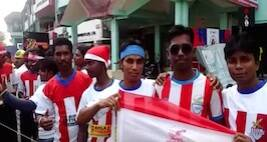 Migrant Workers From West Bengal Root For Atletico De Kolkata