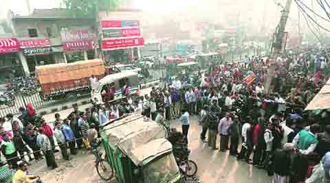Demonetisation: As ATMs and banks run dry before payday, grumblings grow louder in the capital