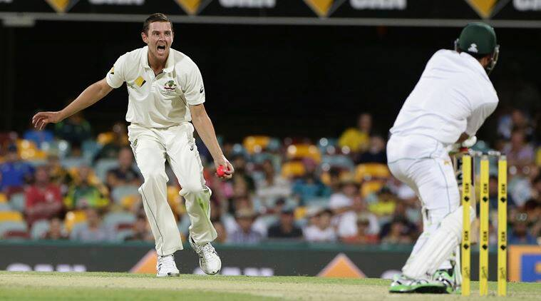 Josh Hazlewood has stated he has recovered from the side strain