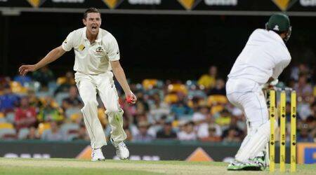 Josh Hazlewood is the best fast bowler in the world by a long way, says Nathan Lyon