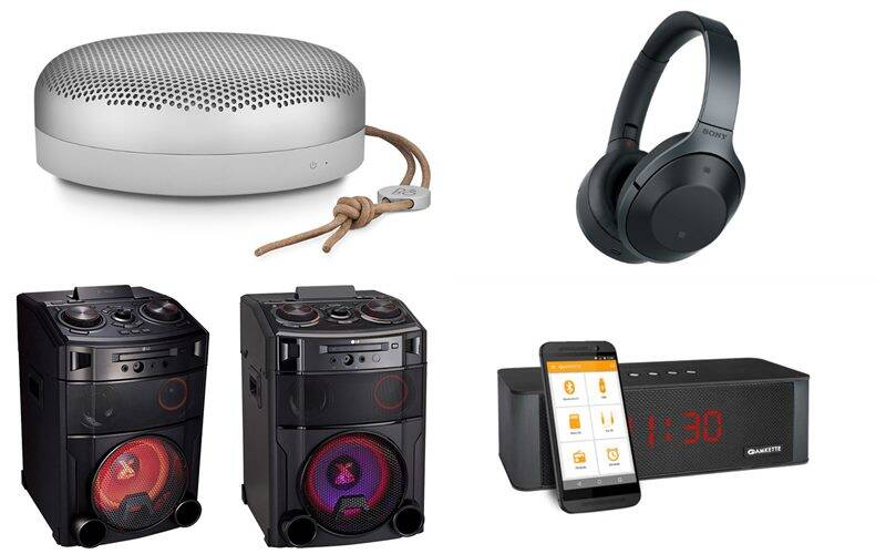 best bluetooth speakers and headphones of 2016 technology news the indian express. Black Bedroom Furniture Sets. Home Design Ideas