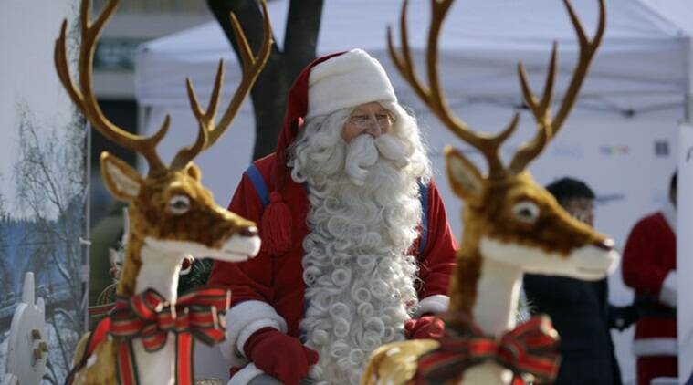 santa claus, christmas, doppler effect and santa claus, Einstein's special relativity theory, The Indian Express, Indian Express news